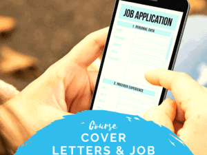 Cover Letters and Applications